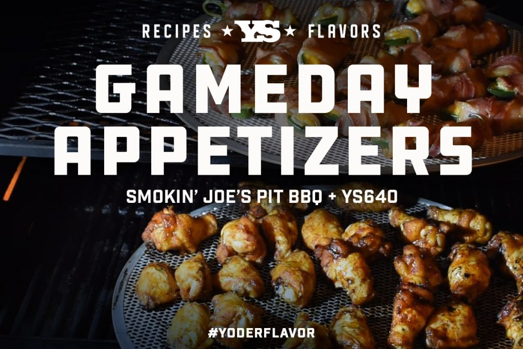 Jalapeño Popper, Smoked Meatball, chicken wing game day recipes