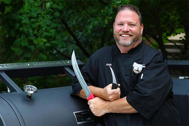 Pitmaster Andy Groneman