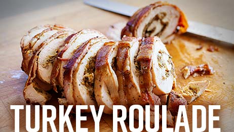 Turkey Roulade Recipe