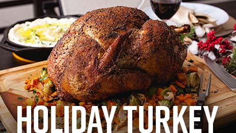 Holiday Smoked Turkey Recipe
