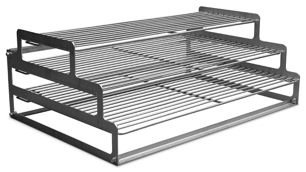 Three Tier Smoking Rack