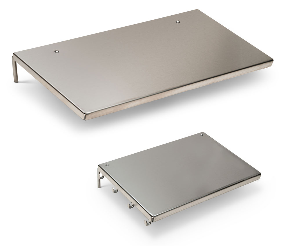 Stainless Steel Front and Side Shelves for YS480