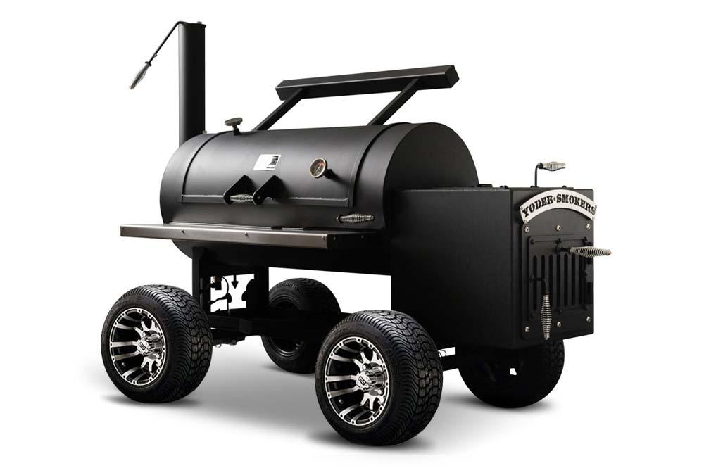 Backyard Custom Kingman Offset Smoker