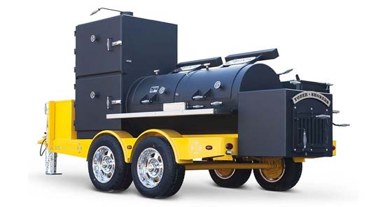 Yoder Smokers Charcoal Customs