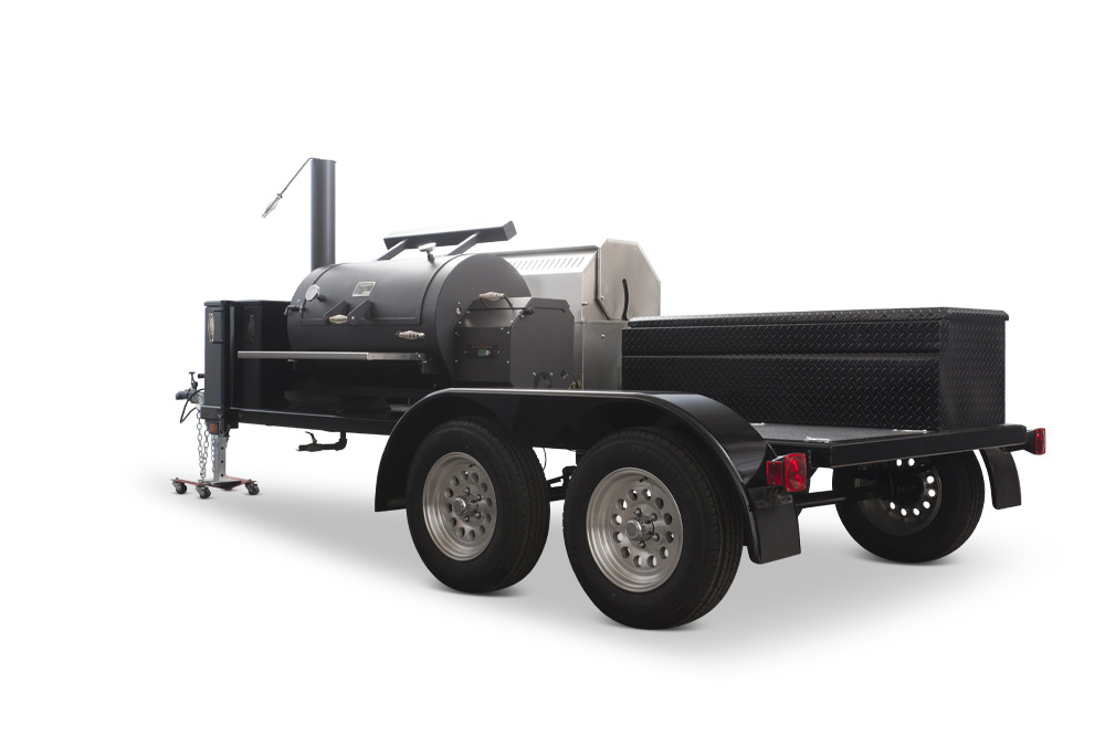 YS1500S paired with Crown Verity Propane Grill
