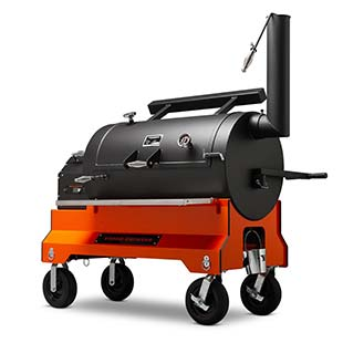 YS1500s Competition Cart Pellet Smoker