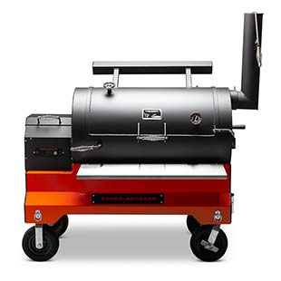 YS1500s Competition Cart Pellet Smoker that is made in America