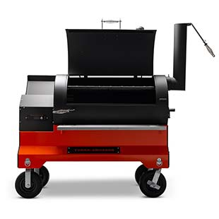 YS1500s Competition Cart Pellet Smoker that is made in USA