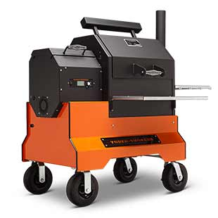 Yoder Smokers 480S Pellet Grill on Competition Cart