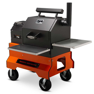 YS480s Competition Cart Pellet Grill, American Made