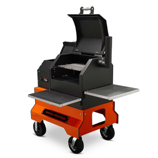 YS480s Competition Cart Pellet  Smoker, American Made