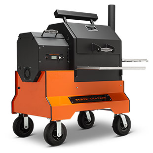 Yoder Smokers 480S Pellet Smoker on Competition Cart