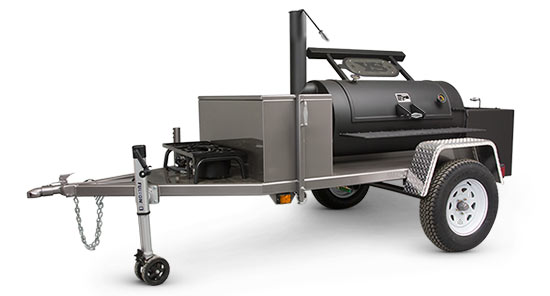 Yoder Smokers Chisholm Trailer Smoker