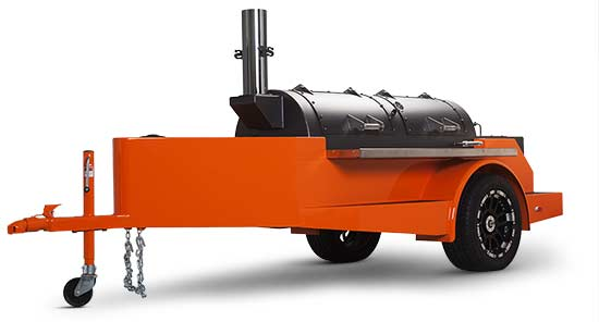 Yoder Smokers Cimarron Trailer Smoker