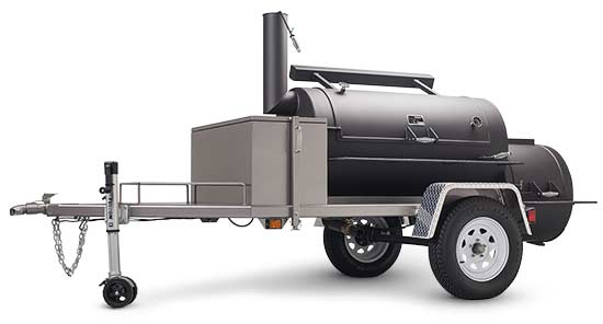 Yoder Smokers Frontiersman Trailer Smoker