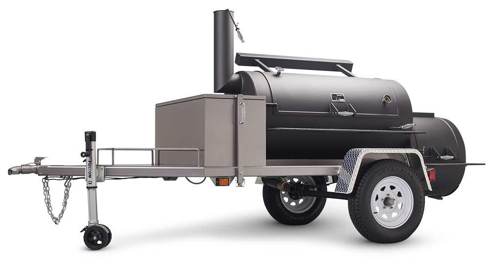 "MAIN IMAGE - Yoder Smokers Frontiersman 30"" Trailer Smoker"