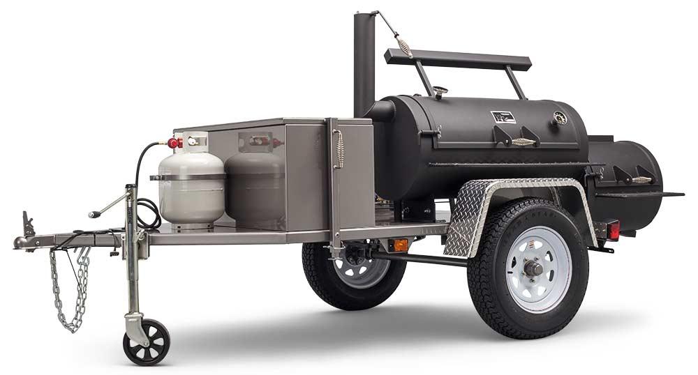 "MAIN IMAGE - Yoder Smokers Santa Fe 20"" Trailer Smoker"